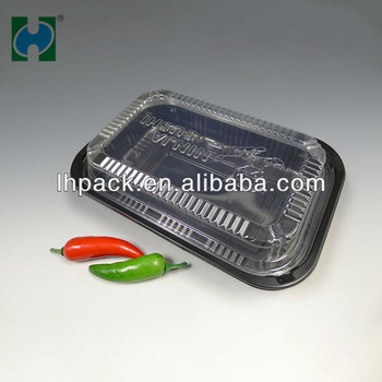 Disposable Plastic Lunch Box Take-away Box Reusable Food Containers Plastic