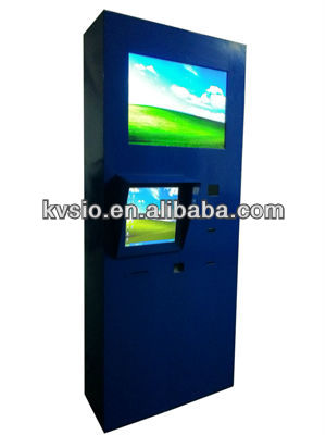 Car wash payment kiosk with receipt printer