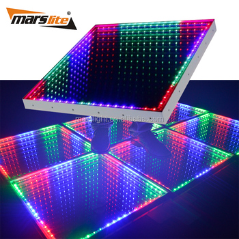 Hot Sale 3d Mirror Led Dance Floor Party Led Dance Floor