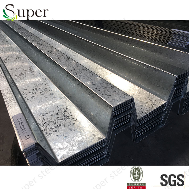 China Best floor decking sheet galvanized corrugated steel on alibaba top manufacturer