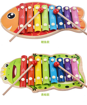 wholesale magical children wooden music table toy