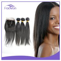 2016 new premium silky straight hair bundles Brazilian baby hair smooth and soft