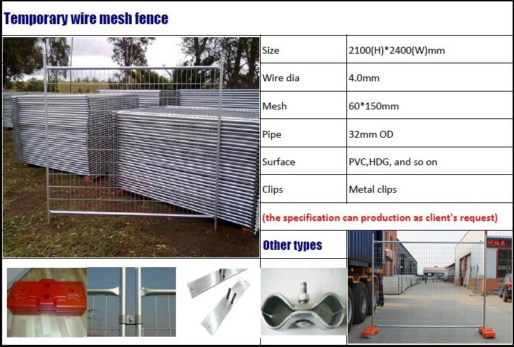 Temporary Fence With Welded Mesh Or Tube,Welded Wire Mesh Fencing ...
