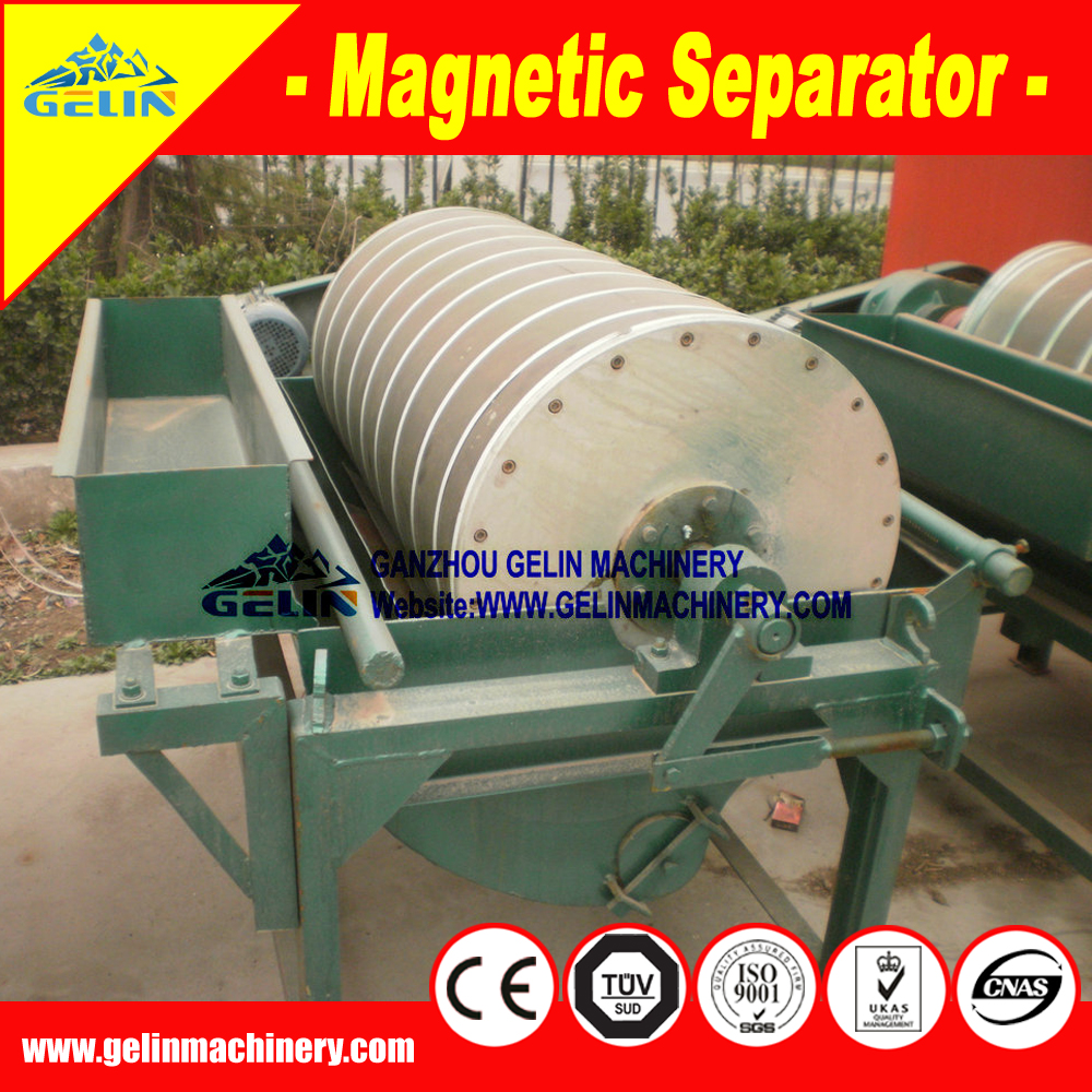 High Efficiency Belt Type Three Disc magnetic separator for Tungsten Ore/ tantalite/tungsten/Columbite oncentration