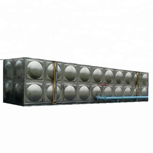 Good quality insulated water tank, stainless steel solar water tank PU foam insulation