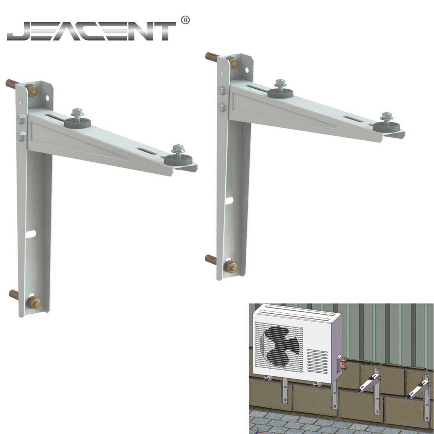 Mini Split Wall Mounting Bracket for Ductless Air Conditioner 7,000-15,000BTU Condensers