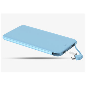 2018 stylish high quality credit card power bank 5200mAh