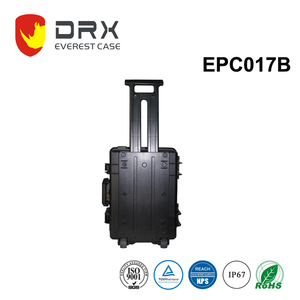 Plastic Equipment Case Machine Trolley Luggage Flight Case