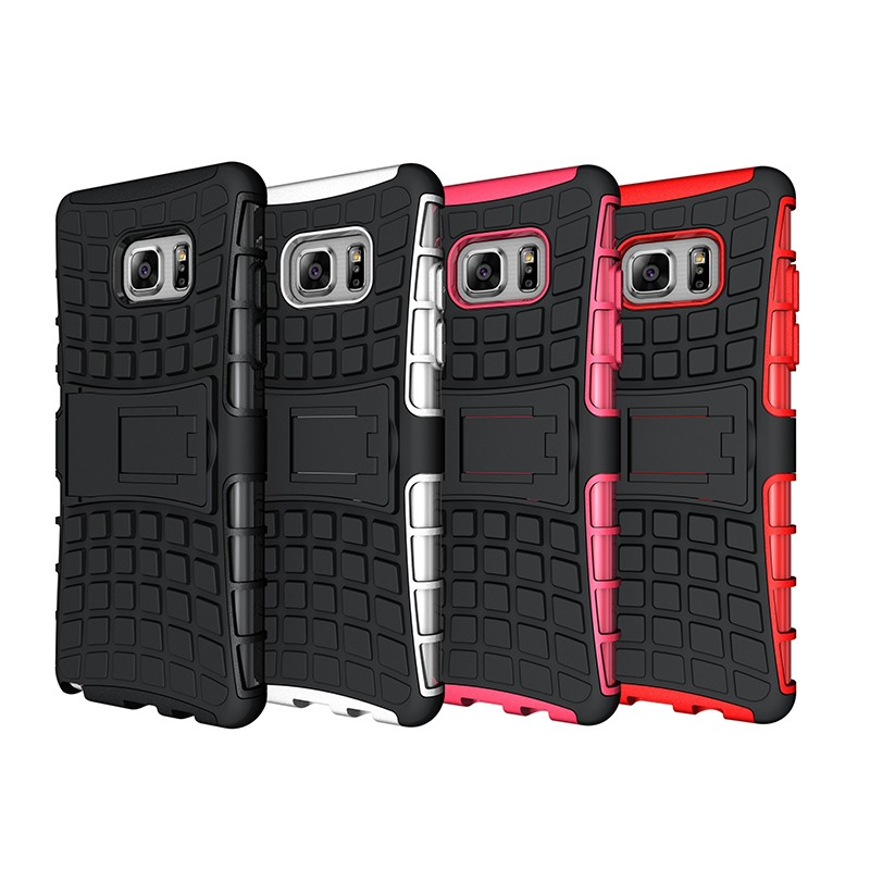2 in 1 armor rugged shockproof back TPU pc phone case for samsung galaxy c7