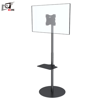 Adjule Lcd Led Tv Cart Rotate 360 Vesa Floor Stand For Small