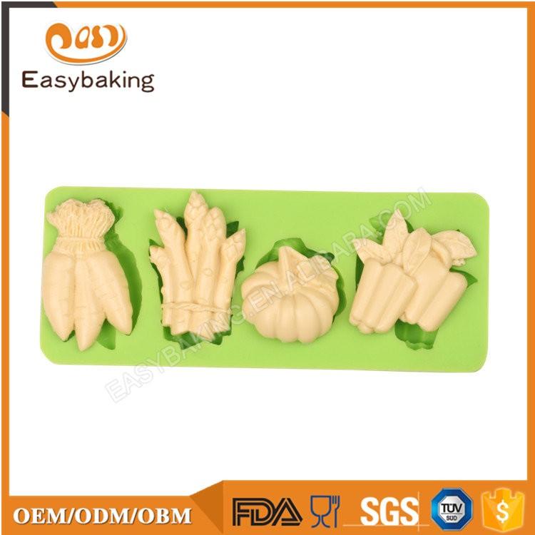 ES-4508 Fruit Shape Silicone Fondant Cake Decorating Mold