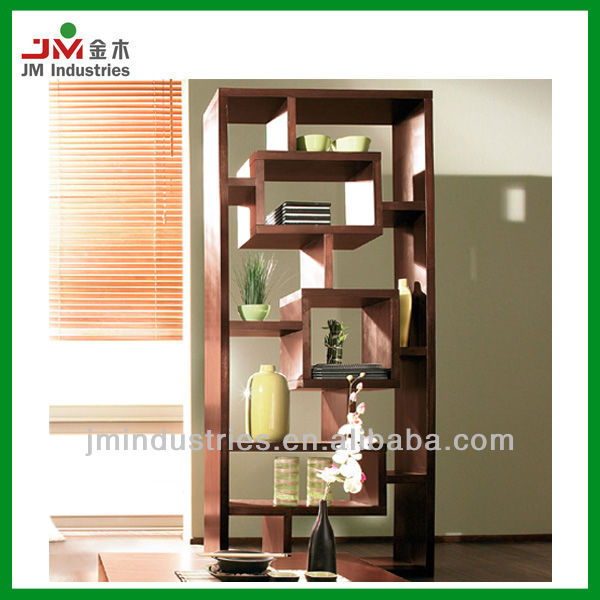 High Quality Mahogany Tall Wood Display Cabinet For Living Room ...