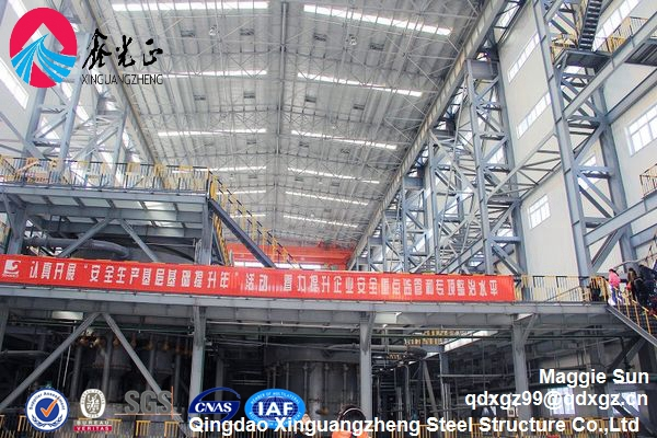 Industrial prefabricated EPS steel structure frame warehouse