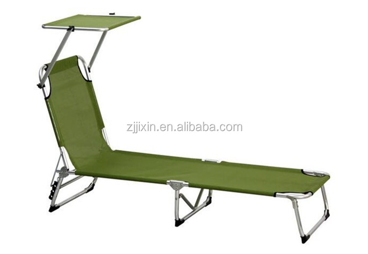 Portable army cot folding military bed camping bed Beach chair sun lounger