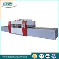 Side Pull Small Pvc Foil Wood Veneer Vacuum Membrane Press Machine
