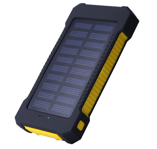 Outdoor Promotional Charger 10000Mah Solar Power Bank