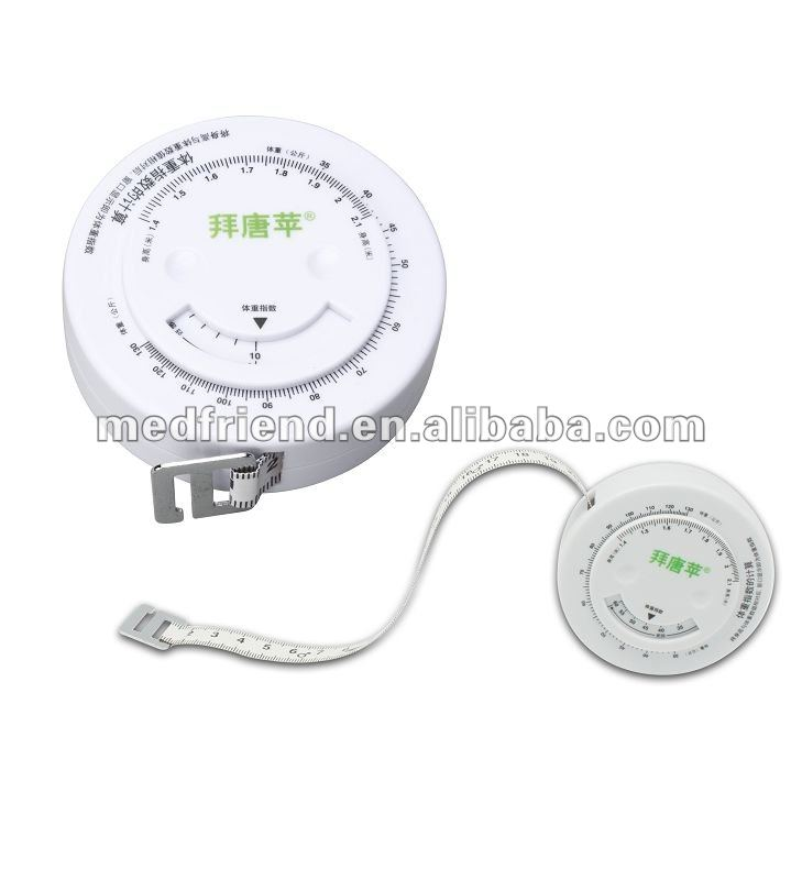 MF0360 Body Fitness Round BMI Tape Measure