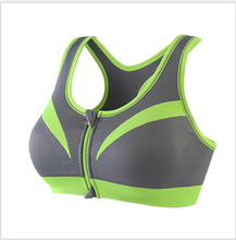 Professional running fitness sports bra before open chain yoga sports bra vest