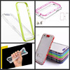 LED Flash Light UP Remind Incoming Call TPU Phone Cover Case For iPhone 6s/ 6/6 Plus 5/5Sfor samsung galaxy s6 s6 edge note 5 4