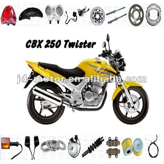 Motorcycle parts cbx250 twister