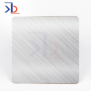 matte 316 hairline brushed 304 stainless steel sheet no 4 satin finish satin stainless steel sheet for kitchen decoration