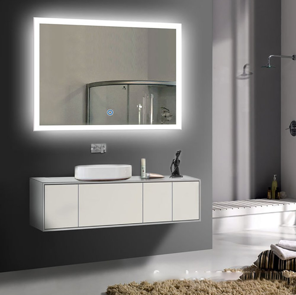 Get Quotations Siminda Led Lighted Mirror Beautiful Vanity With Lights Makeup Is