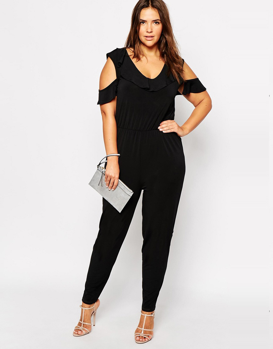 781f54c7a3747 Get Quotations · Off Shoulder Sleeve 4XL Jumpsuit Plus Size Women Clothing  Store Fashion Ladies Jumpsuits One-piece