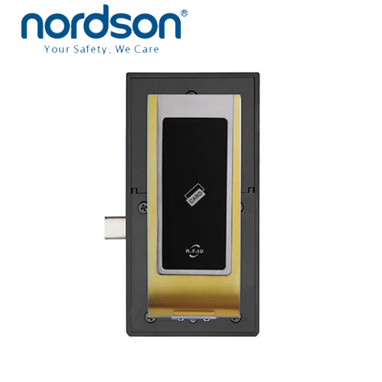 3-level management 3xAA alkaline battery EM Card wooden 125KHZ EM card Cabinet lock Smart RFID cabinet locker sauna sensor lock