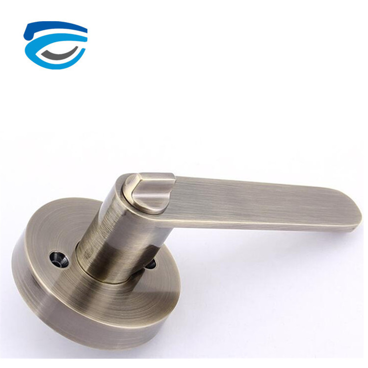 Residential Back Handle Lever Door Locks with Brass Key