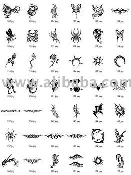 Arte Corporal Tatuajes Temporales Como Tatuaje Plantillas Buy