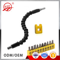 Wholesale 11.6 inch Flexible Extention Screwdriver Drill Bit Holder Magnetic Quick Connect Drive Shaft Tip