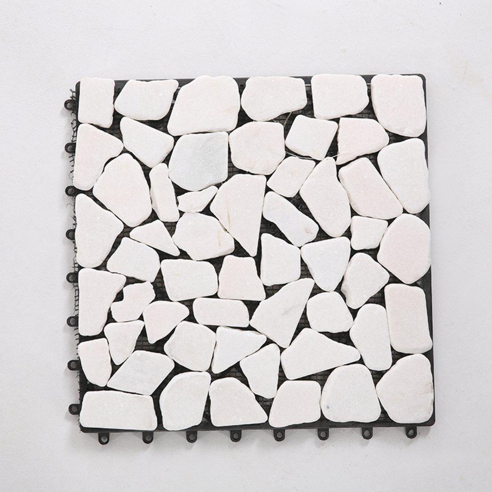 Diy wood flooring/marble flooring/diy stone mosaic flooring/outdoor flooring/wood flooring-C 30x30cm(12x12inch)