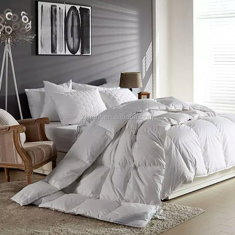 fc09ddec33f luxury white hungarian goose duck feather down hotel home use down duvet  quilt comforter blanket