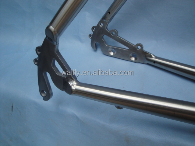 Supply custom-built titanium touring road bike frame