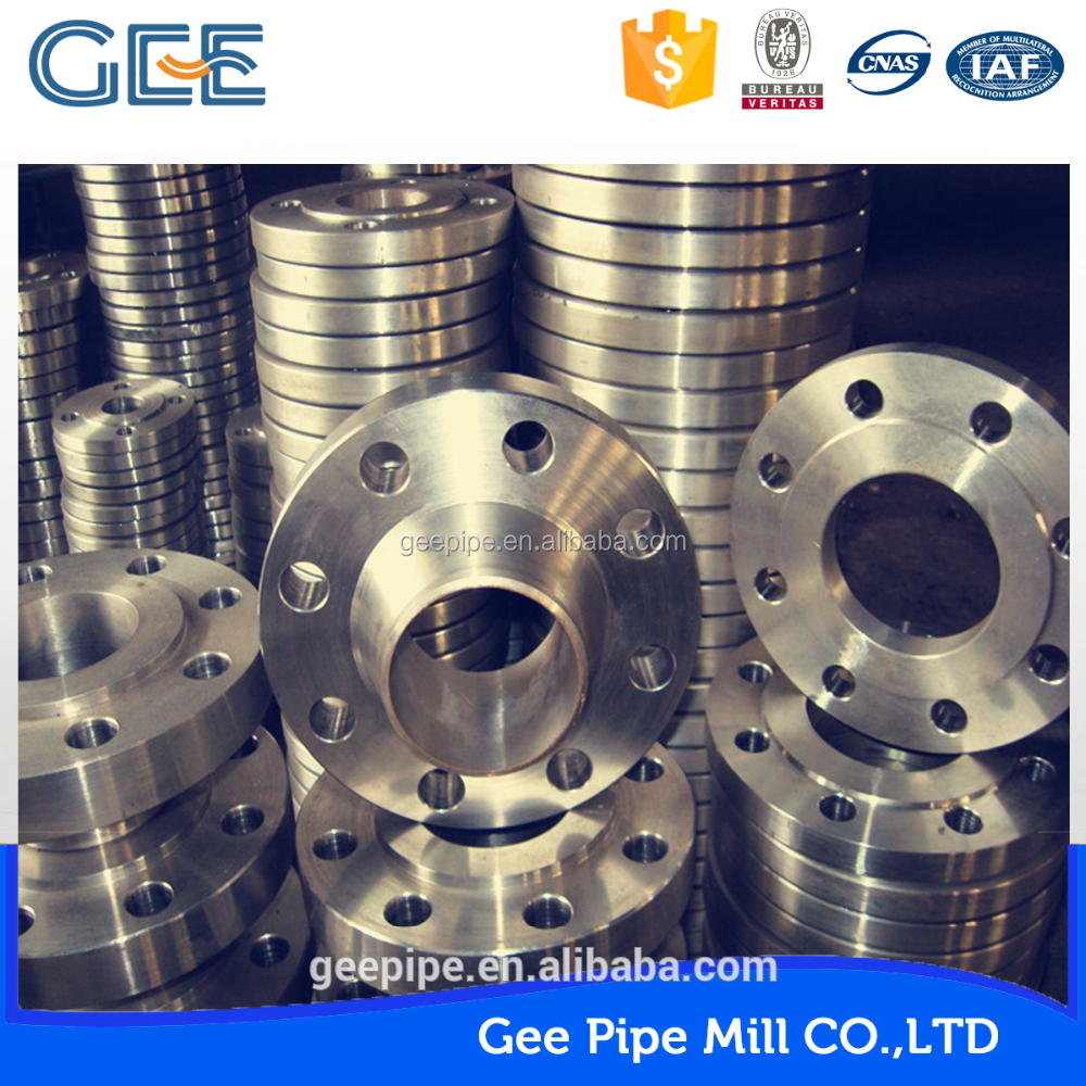 GEE made oil and gas din slip-on pn16 carbon steel a105 flange in china