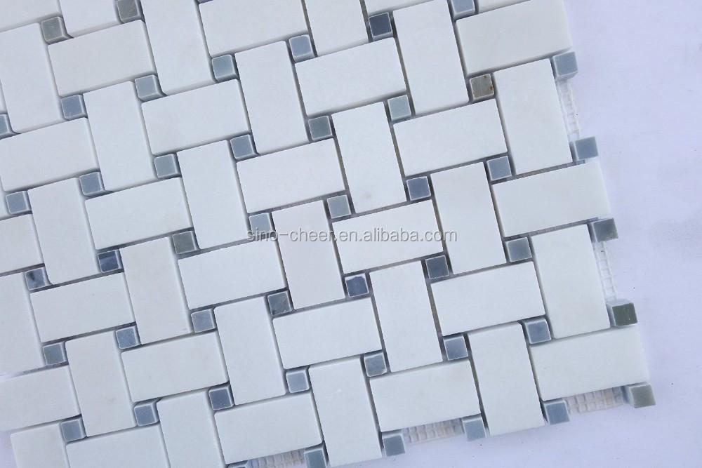 Hexagon Tegels Wit : Klassieke wit hexagon tegels moderne mozaïek art tegels hot koop