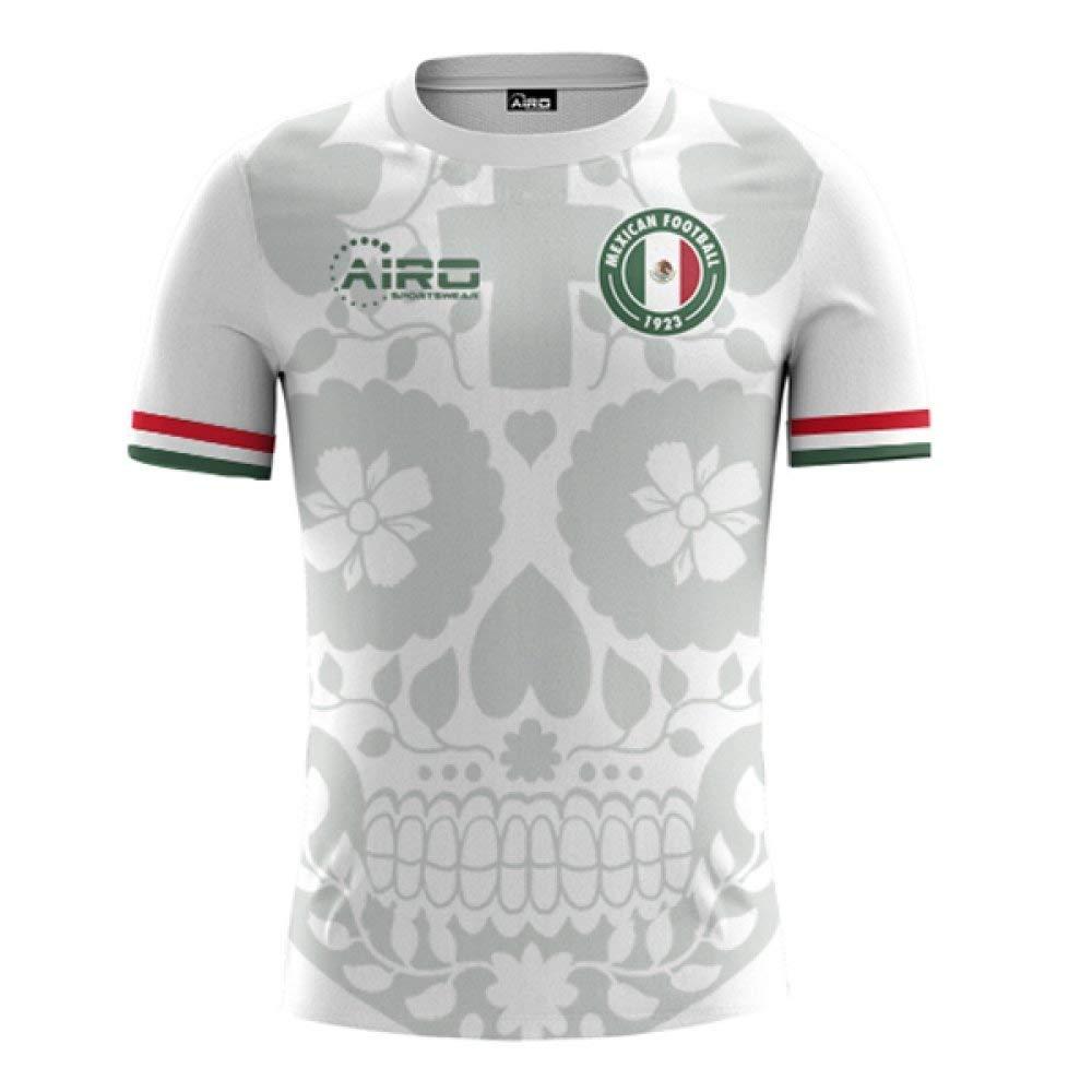 84ee9d1d4 Get Quotations · Airo Sportswear 2018-2019 Mexico Away Concept Football  Shirt (Kids)