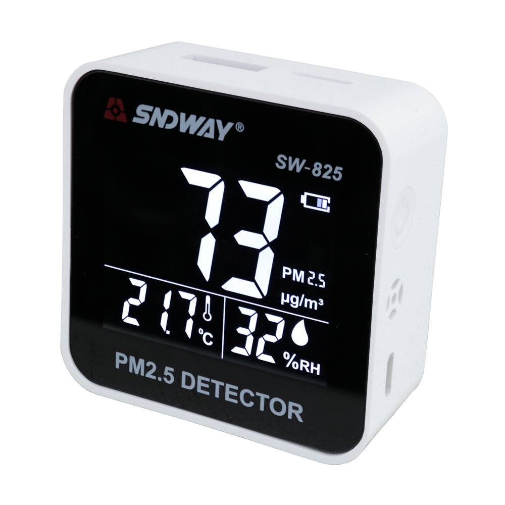 40 p laser PM2.5 detector luchtvervuiling meter Thuis indoor outdoor draagbare pm2.5 luchtkwaliteit monitor pm 2.5 luchtvervuiling tester