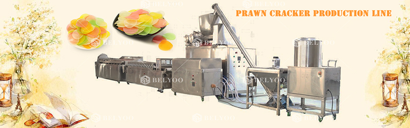 prawn cracker making machine