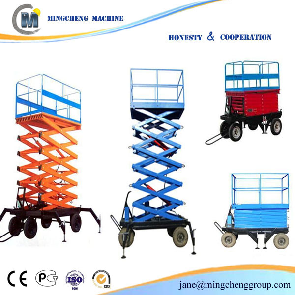draulic service ladder electric scissor lift hydraulic lift good quality