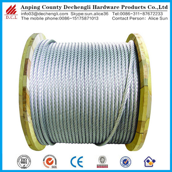 Chinese Manufacturer Anti-twisting Braided Steel Wire Rope Applied ...