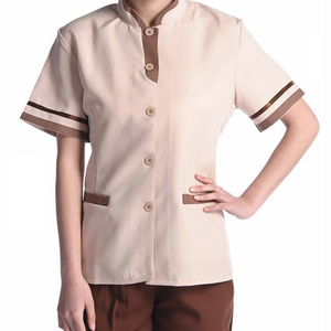 Hotel cleaning staff service comfortable uniform Workwear