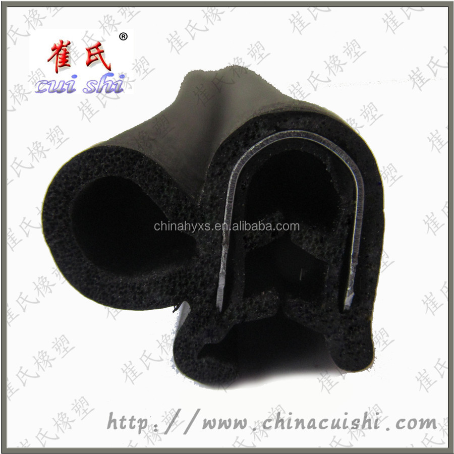 rubber seal joint strip AUTO door EPDM edge guard gasket from China