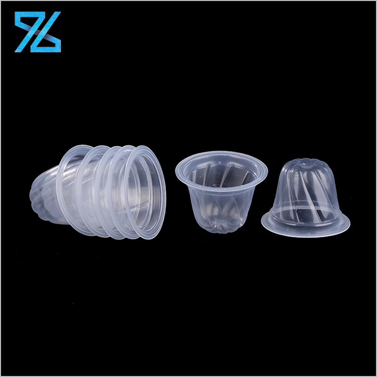Wholesale Mini Rotating Line Clear Disposable PP Plastic Cup