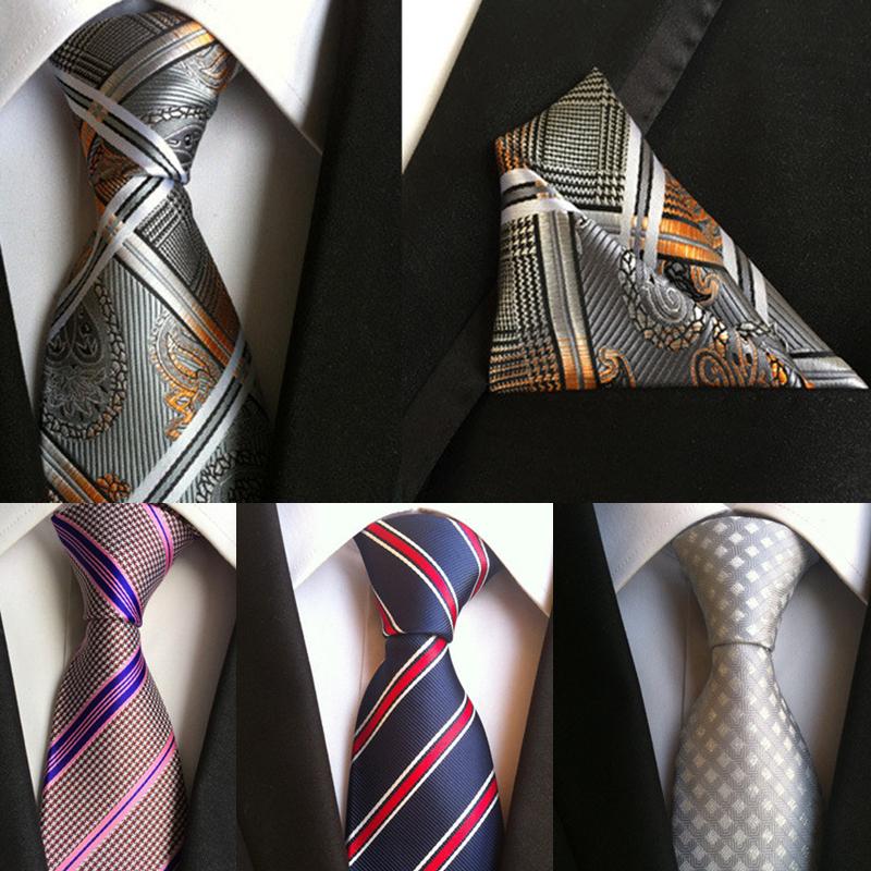 Asian style silk neck tie