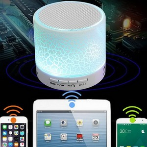 A9 LED Colorful TF Portable Mini Wireless Stereo Bluetooths Speaker