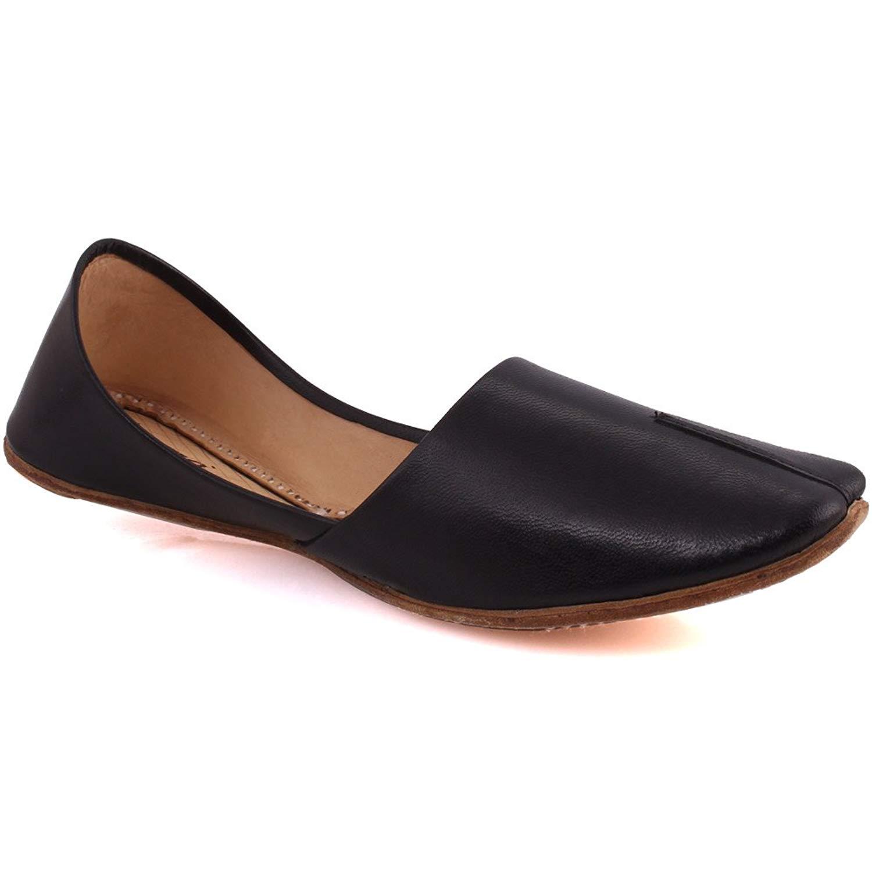 e38bd4c9229 Get Quotations · Unze Bron  Men Leather Khussa Shoes Traditional Indian Khussa  Shoes - 0002 - KS