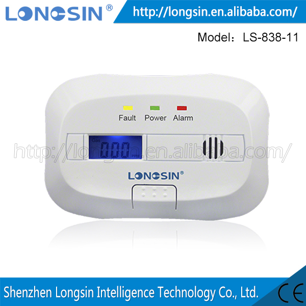 2015 New Style Professional Security Gas Detector Alarm Gas Detector Price Gas Detector