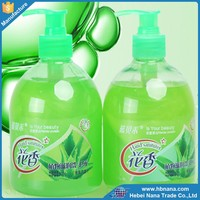 Liquid detergent cleaner hand wash with different color and flavor