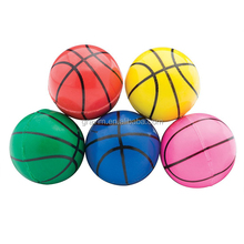 Gravim Bulk Basketball Shape Rubber Bouncy Balls